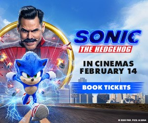 Sonic the Hedgehog - In Cinemas February 14 - Book Tickets