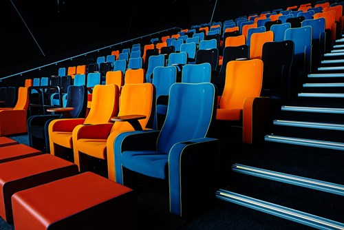 Cinema seats at The Light