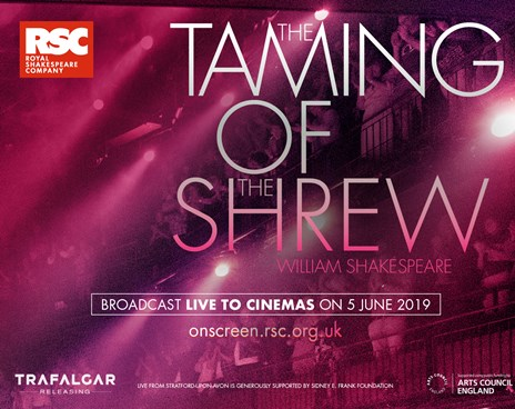RSC Live: The Taming Of The Shrew Poster