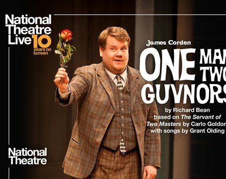 NT Live: One Man, Two Guvnors Poster