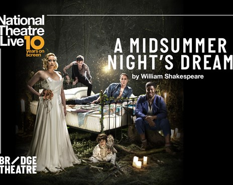 NT Live: A Midsummer Night's Dream Poster