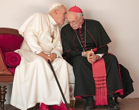 CFF: The Two Popes Poster