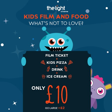 Kids Film and Food offer