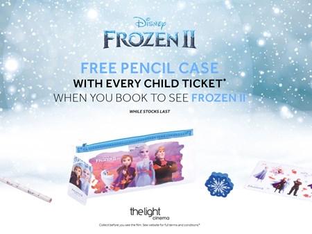 Frozen pencil case